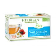 Infusion nuit paisible camomille bio herbesan