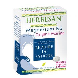 magnésium marin origine marine vitamine b6 comprimé herbesan
