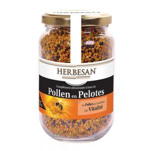 pollen en pelotes vitalité herbesan