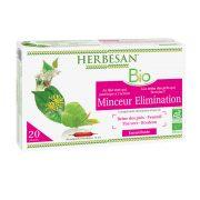 minceur elimination reine des prés thé vert ampoules herbesan