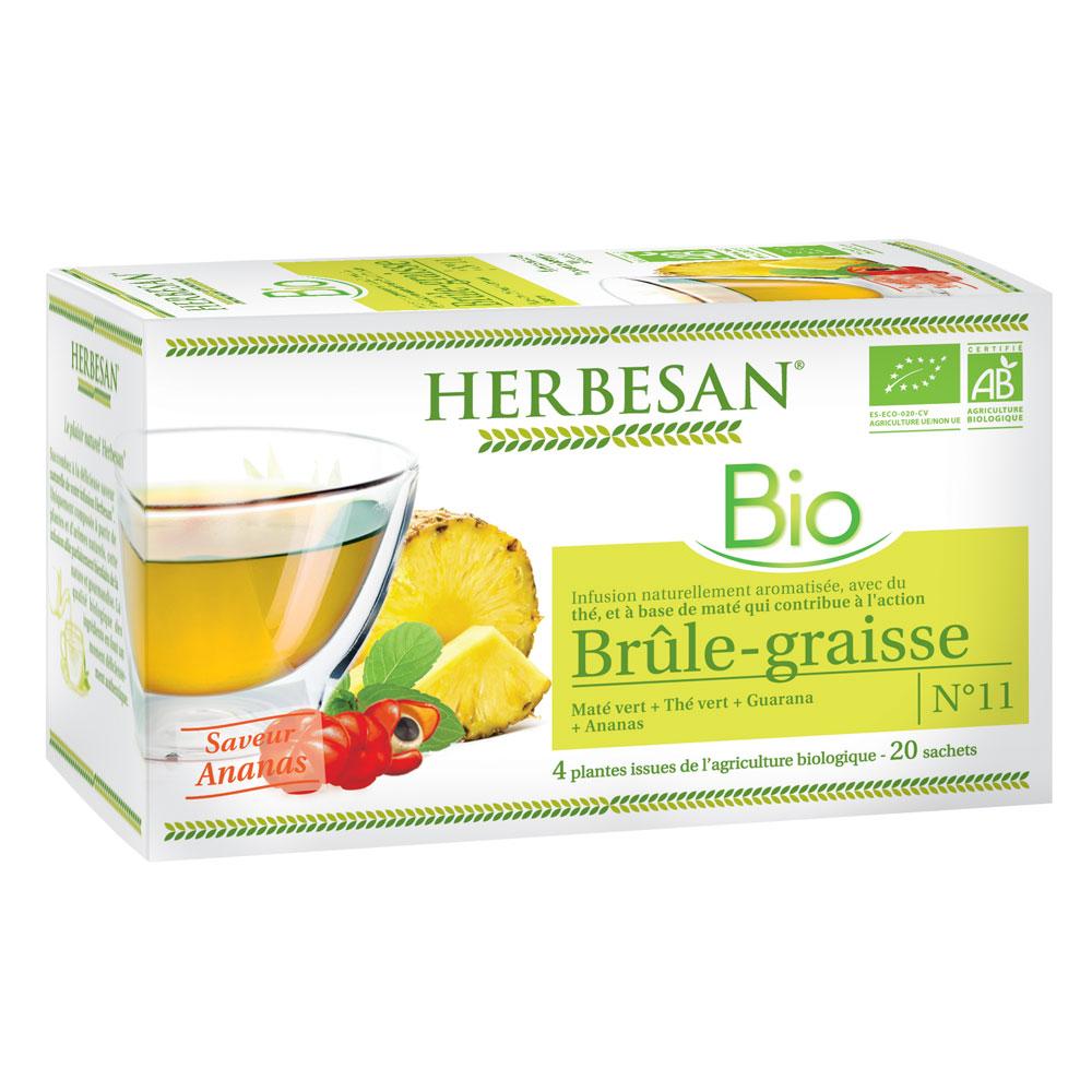 Infusion mat vert br le graisse herbesan - Nettoyer graisse brulee four ...