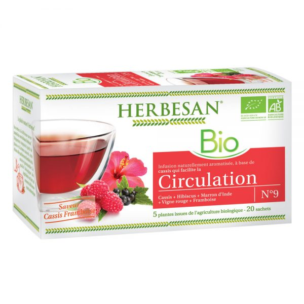 infusion bio cassis circulation herbesan