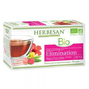 infusion hibiscus elimination bio herbesan