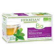 thé vert minceur infusion bio herbesan