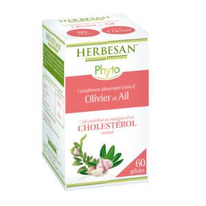 ail cholesterol olivier gélules phyto herbesan