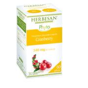cranberry gelules confort urinaire herbesan