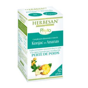 perte de poids konjac ananas gélules herbesan