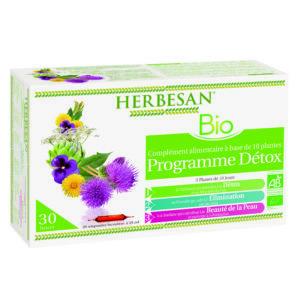 programme detox bio herbesan ampoules