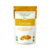 Curcuma bio articulations Bien-être musculaire et articulaire poudre Herbesan