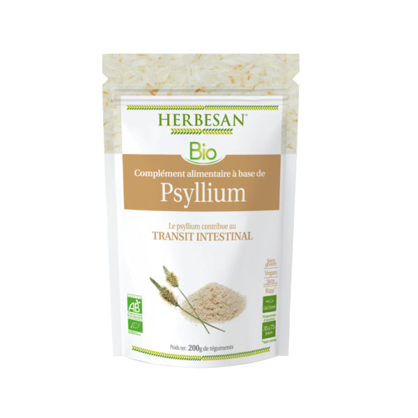 Sachet psyllium poudre transit intestinal