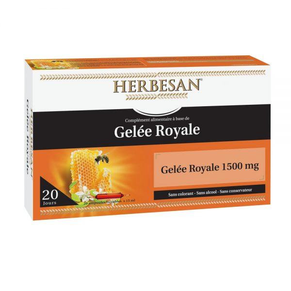 Gelee Royale Ampoule herbesan