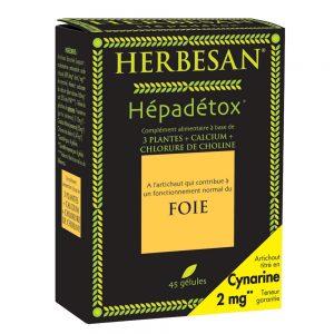 hépadétox lendemain de fête foie gélules herbesan