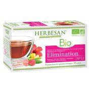 infusion hibiscus elimination bio herbesan