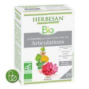 Curcuma articulations gélules bio Herbesan