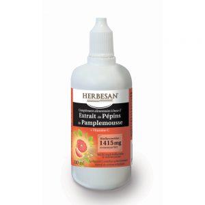Extrait de pépins de pamplemousse vitamine c fatigue système immunitaire herbesan