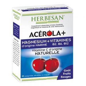 acerola magnesium vitamines herbesan