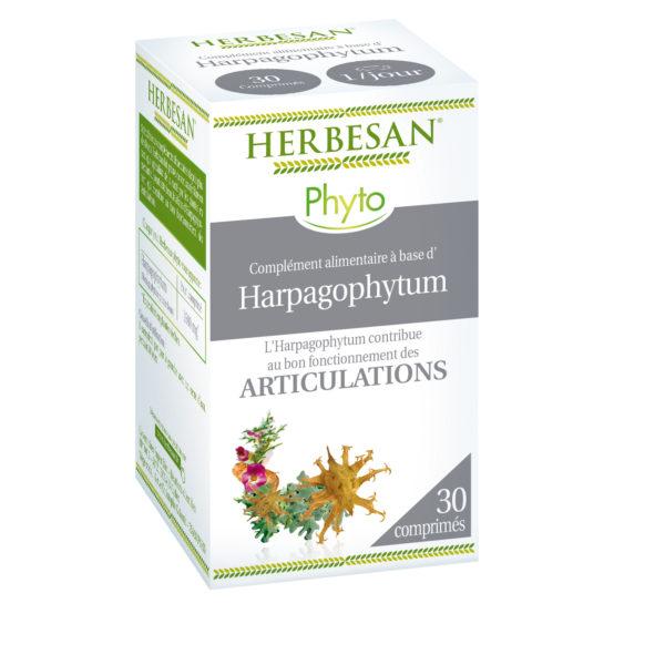 harpagophytum articulations bio comprimés herbesan