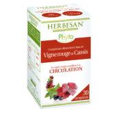 vigne rouge cassis circulation comprimé herbesan