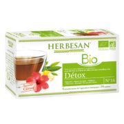 infusion detox chicorée bio herbesan
